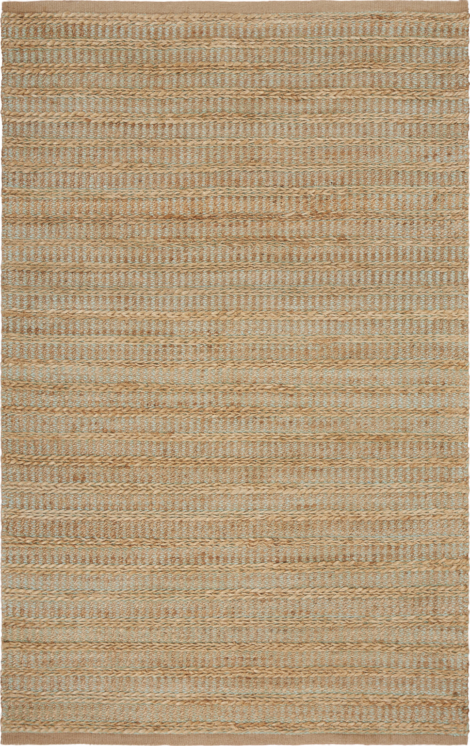 LR Resources Natural Fiber 3317 Seafoam Area Rug main image