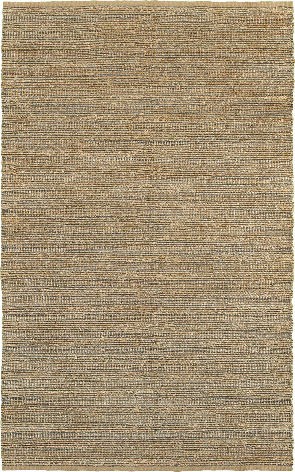 LR Resources Natural Fiber 3336 Gray Area Rug main image