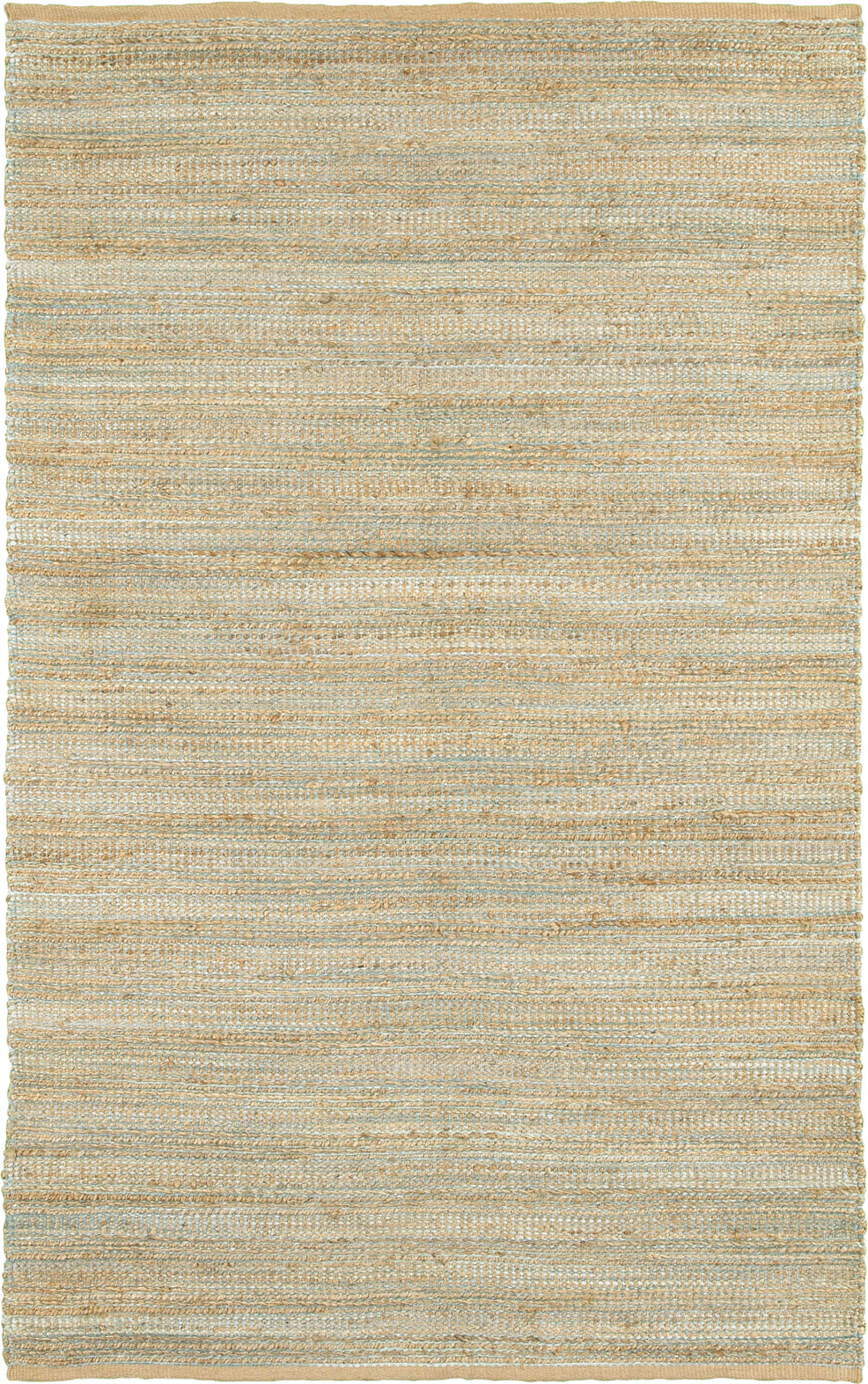 LR Resources Natural Fiber 3337 Spa Blue Area Rug main image