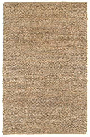 LR Resources Natural Fiber 03344 Med Gray Area Rug
