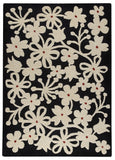 MAT Vinson Newport Charcoal/White Area Rug main image