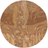 Momeni New Wave NW-01 Willow Beige Area Rug Room Scene