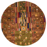 Momeni New Wave NW-02 Ziggy Multi Area Rug Close up
