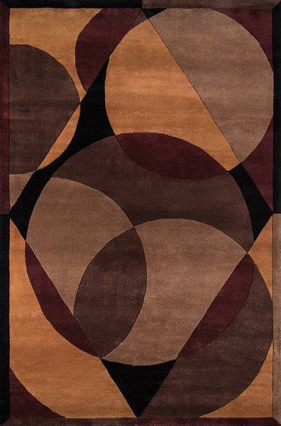 Momeni New Wave Nw 78 Brown Area Rug Incredible Rugs And Decor