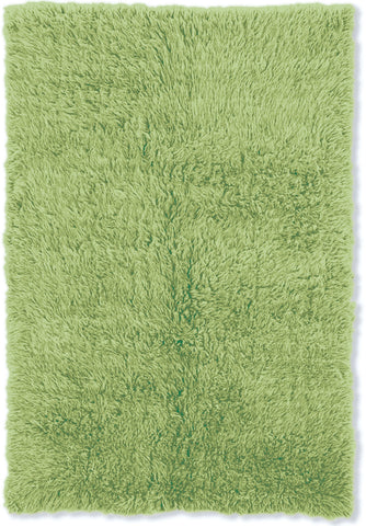 Linon New Flokati 1400 grams FLK-NFVG Lime Green/Lime Green Area Rug main image