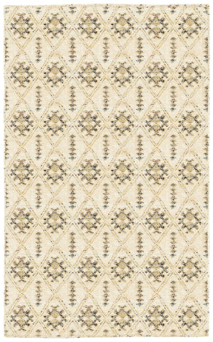 LR Resources Nisha 04401 Cream Area Rug