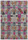 LR Resources Nisha 04402 Multi Area Rug 4' X 6'