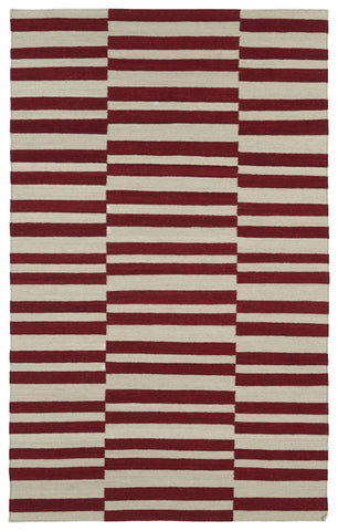 Kaleen Nomad NOM01 Red Area Rug