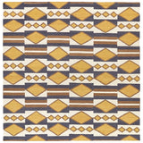 Kaleen Nomad NOM07 Gold Area Rug Square Shot