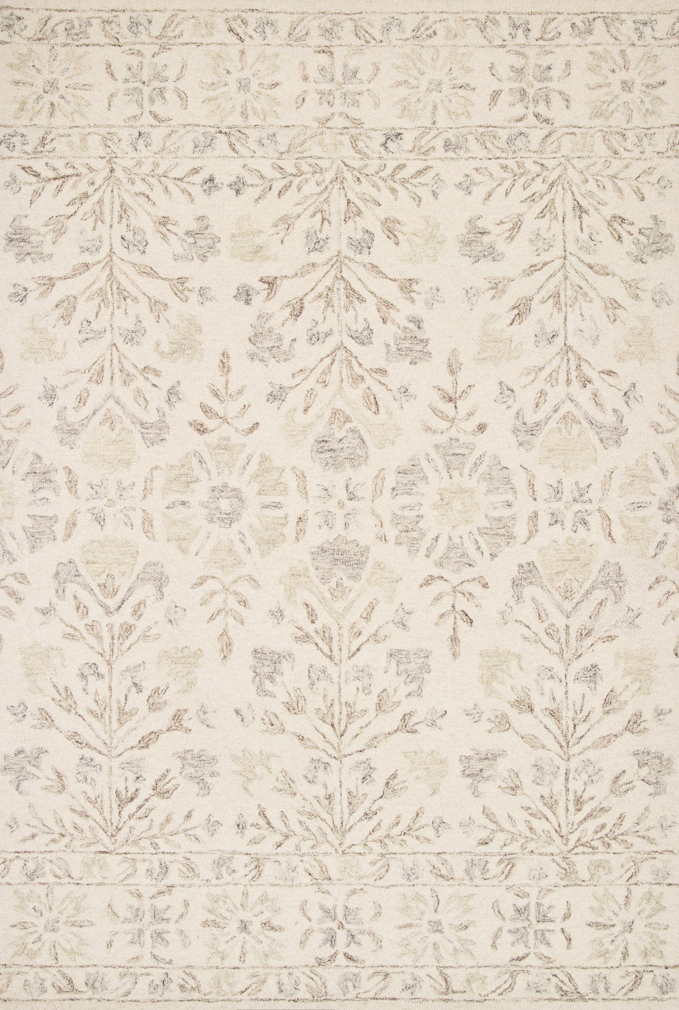 Loloi Norabel NOR-02 Ivory/Neutral Area Rug main image