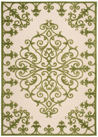 Nourison Aloha ALH12 Green Machine Woven Area Rug