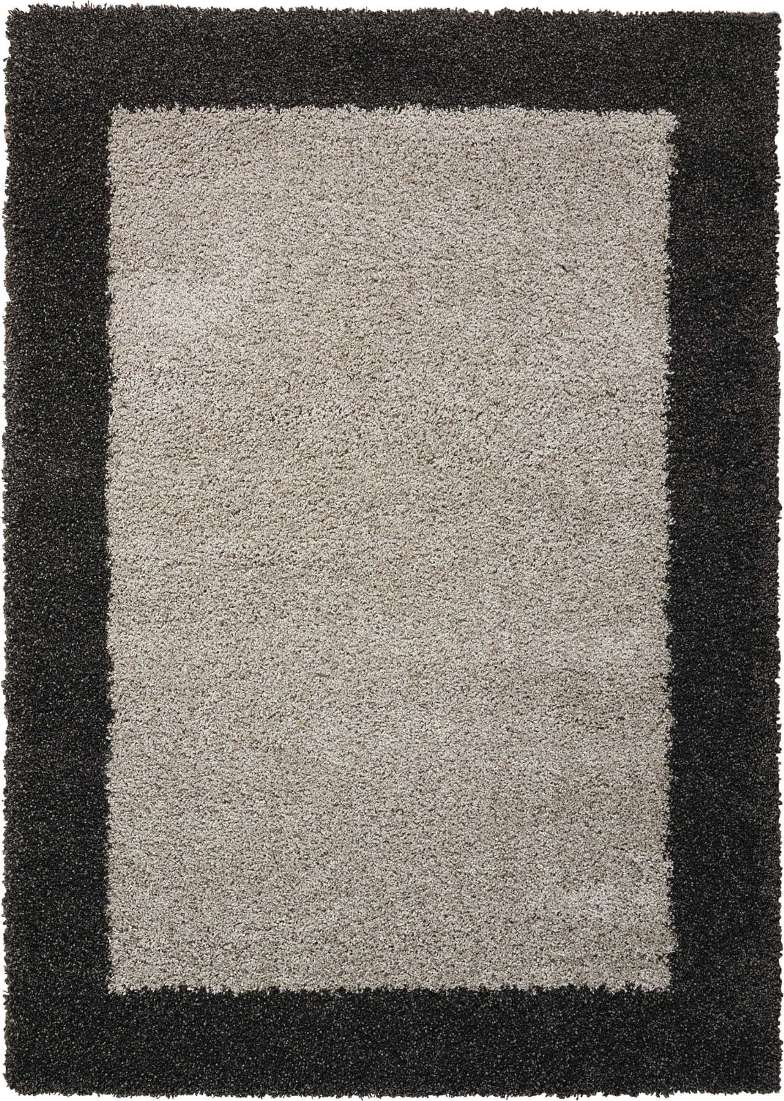 Nourison Amore AMOR5 Silver/Charcoal Area Rug main image