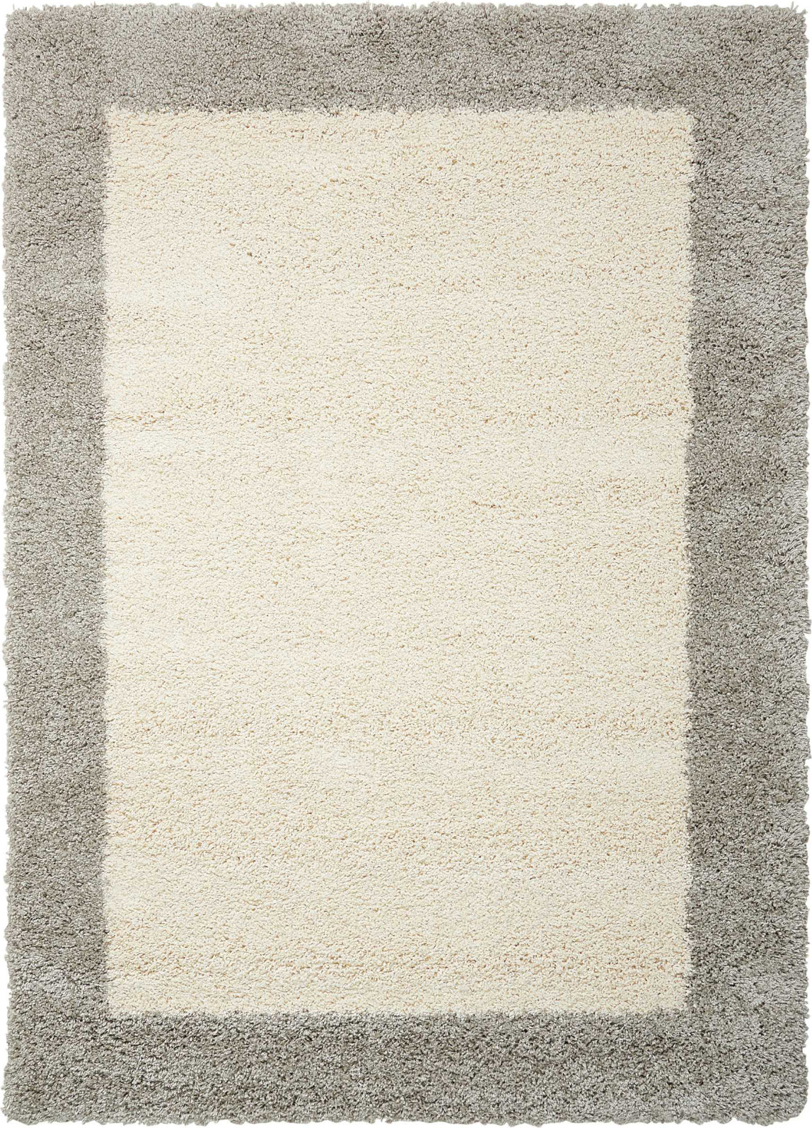 Nourison Amore AMOR5 Ivory/Silver Area Rug main image