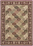 Nourison Antiquities ANT02 Washington Square Multicolor Machine Woven Area Rug by Kathy Ireland