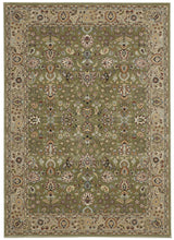 Nourison Antiquities ANT04 Royal Countryside Sage Area Rug by Kathy Ireland