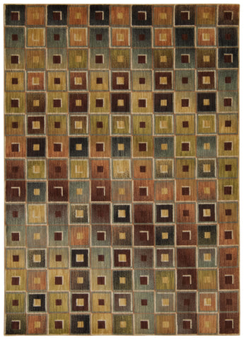 Nourison Aristo ARS02 Multicolor Machine Woven Area Rug