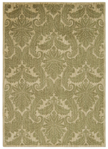Nourison Aristo ARS05 Khaki Machine Woven Area Rug