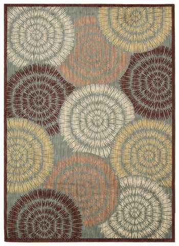 Nourison Aristo ARS08 Multicolor Machine Woven Area Rug