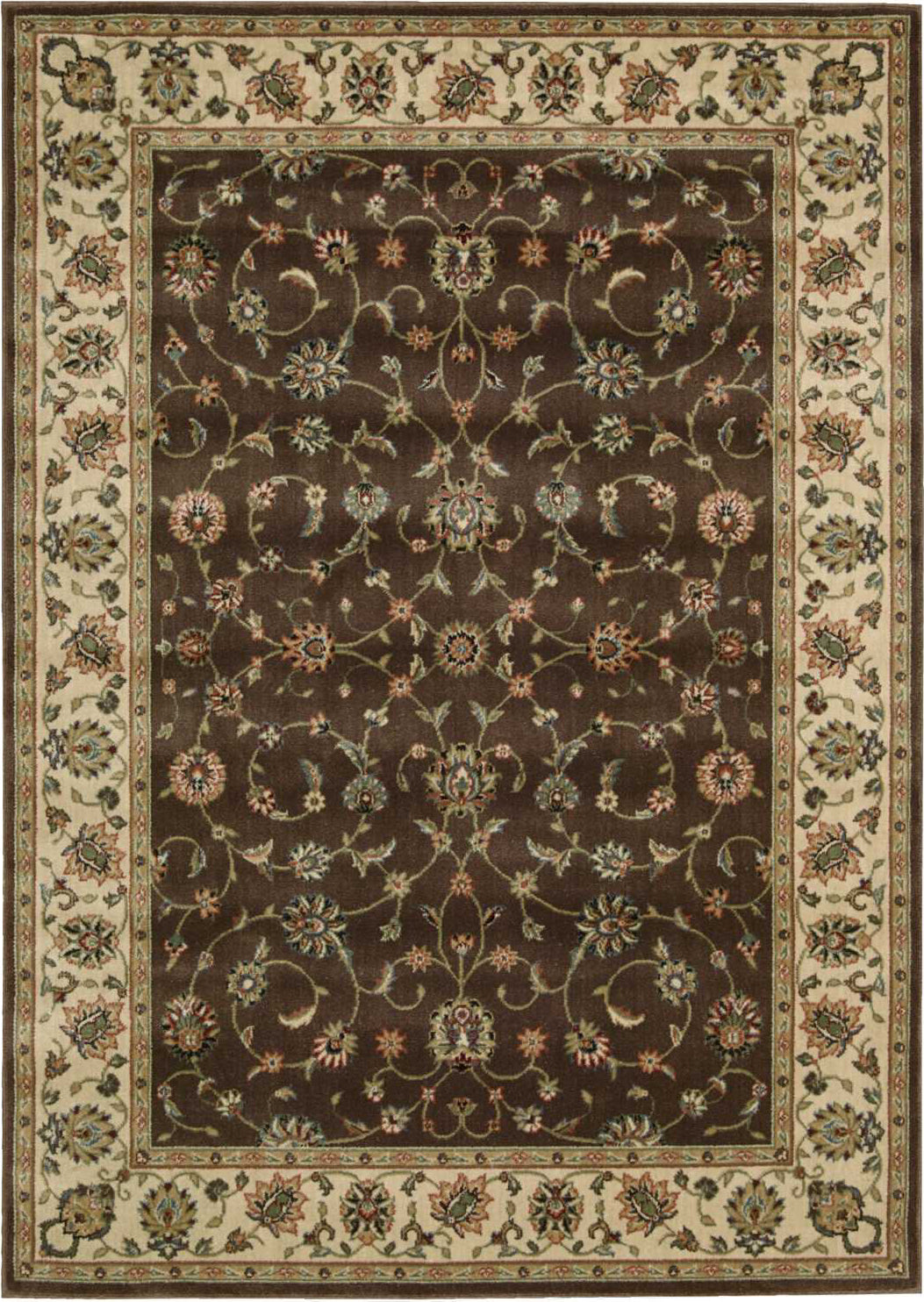 Nourison Persian Arts BD04 Chocolate Area Rug main image