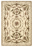 Nourison Bordeaux BOR01 Ivory Machine Woven Area Rug