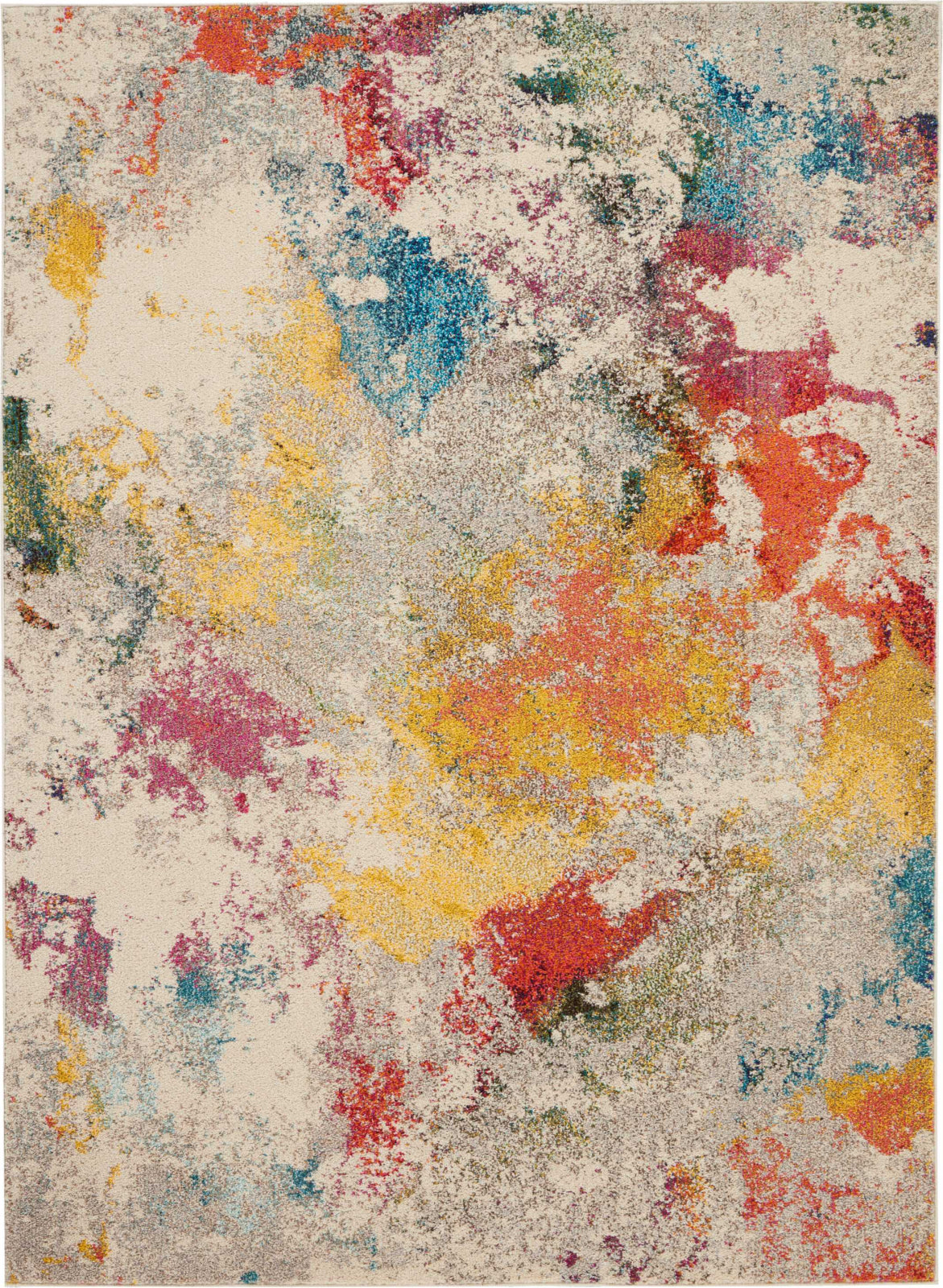 Celestial CES12 Ivory/Multicolor Area Rug by Nourison main image