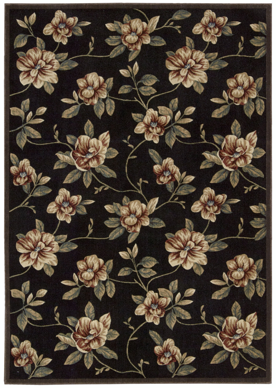Nourison Cambridge CG08 Black Area Rug main image