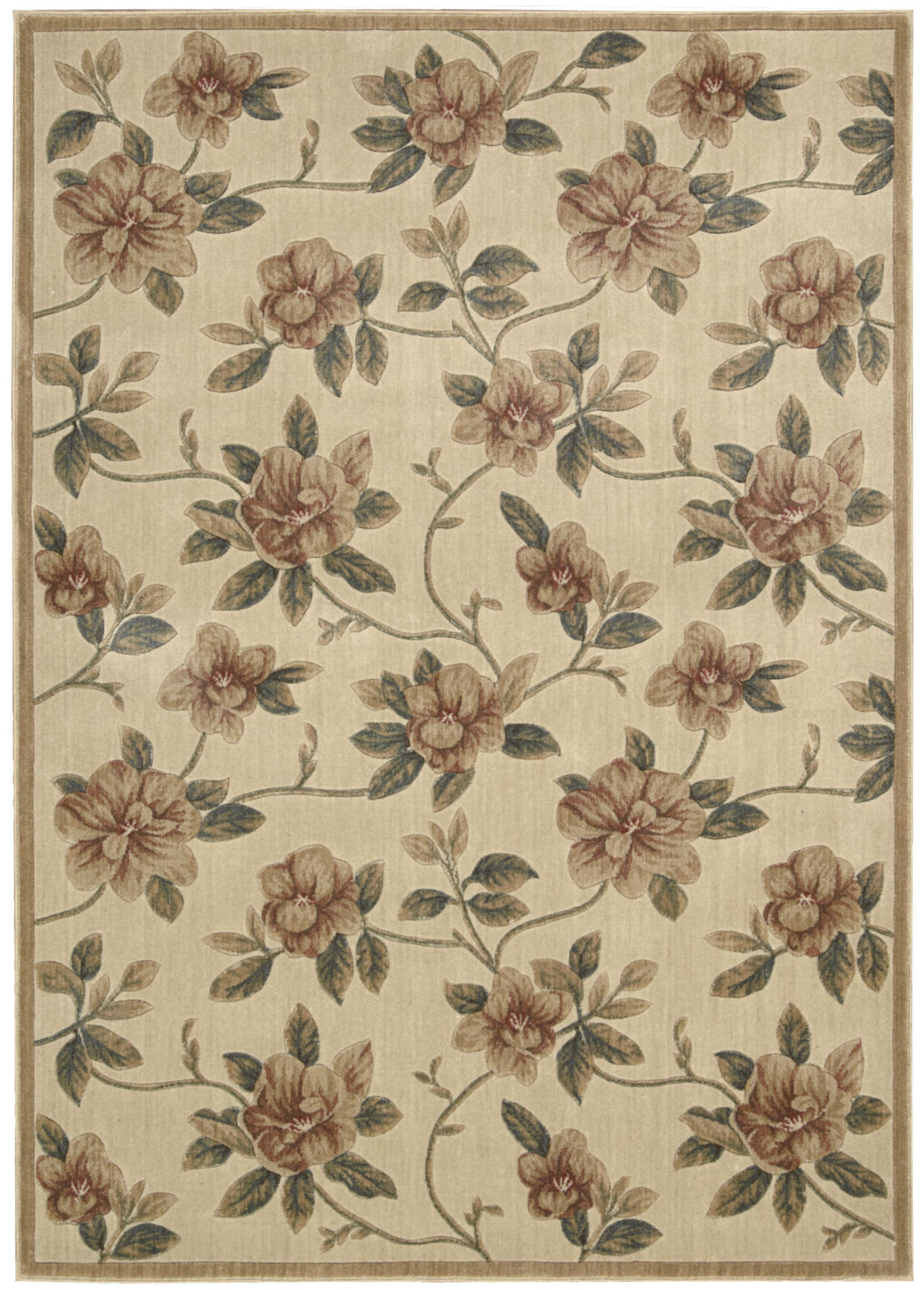 Nourison Cambridge CG08 Ivory Area Rug main image