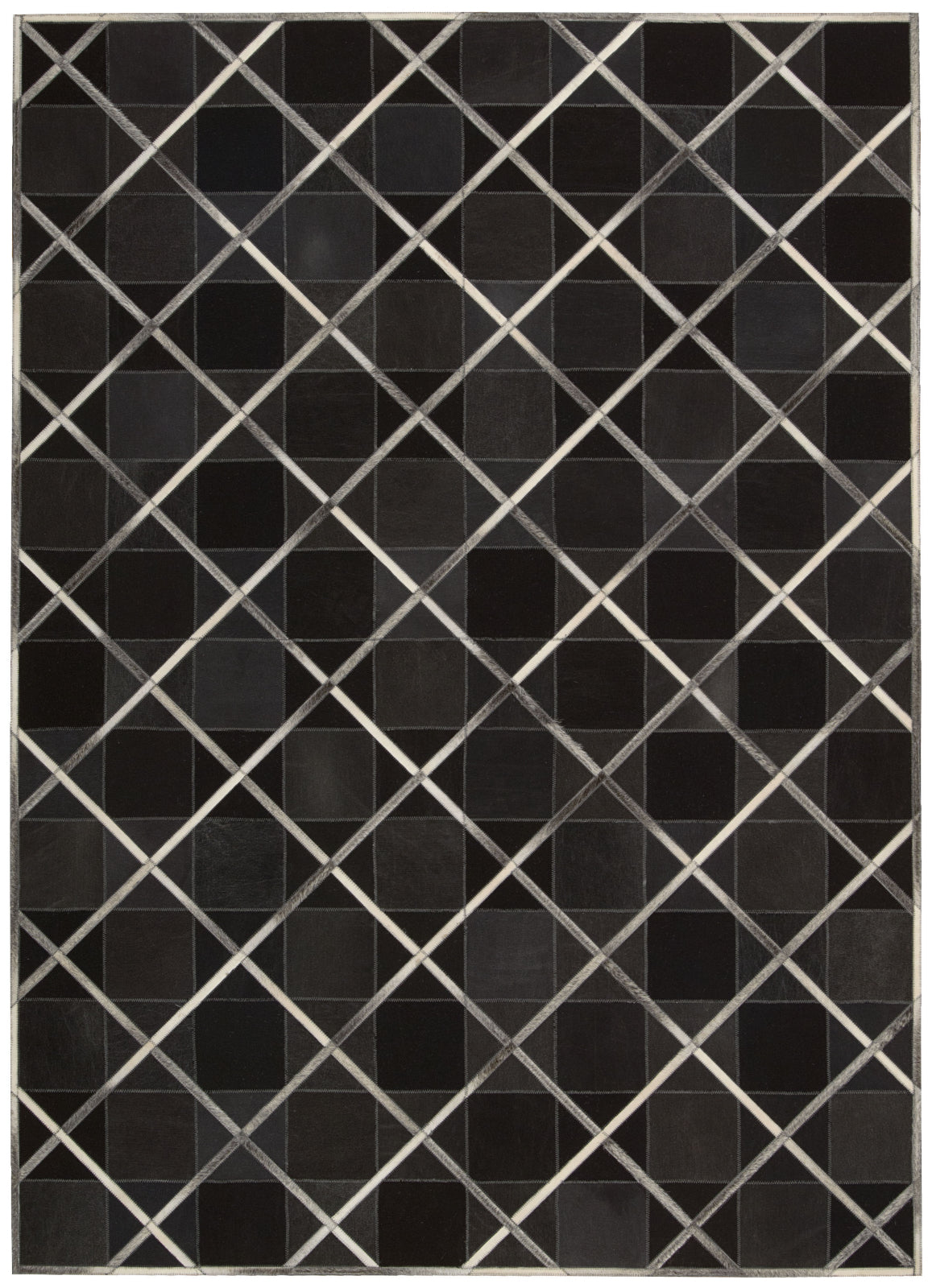 Nourison Cooper COP01 Coal Area Rug by Barclay Butera main image