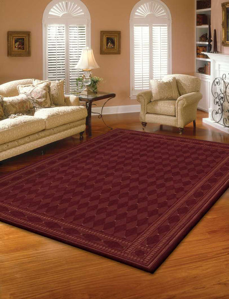 Nourison Cosmopolitan Cs94 Burgundy Area Rug Incredible Rugs And Decor