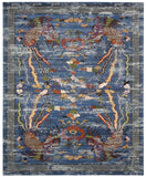 Nourison Dynasty DYN03 Imperial Midnight Machine Woven Area Rug by Barclay Butera
