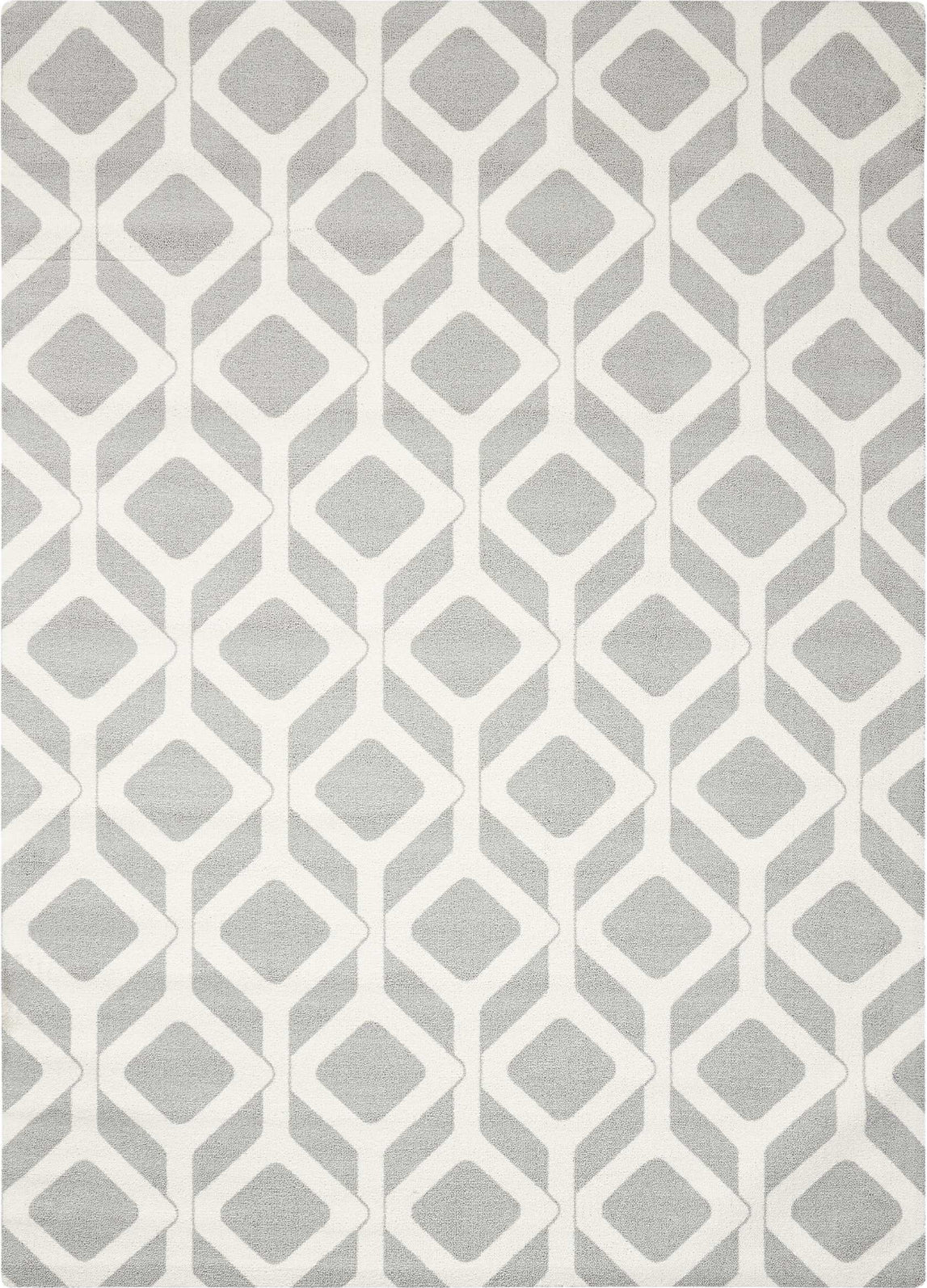 Nourison Enhance EN003 Grey Area Rug main image
