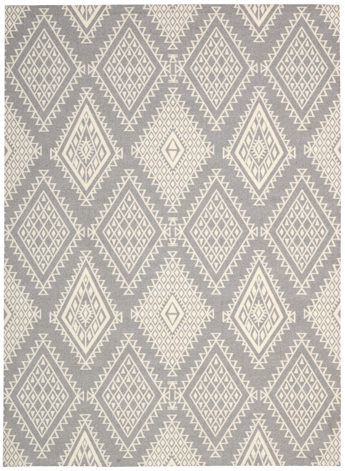 Nourison Enhance EN198 Grey Area Rug main image
