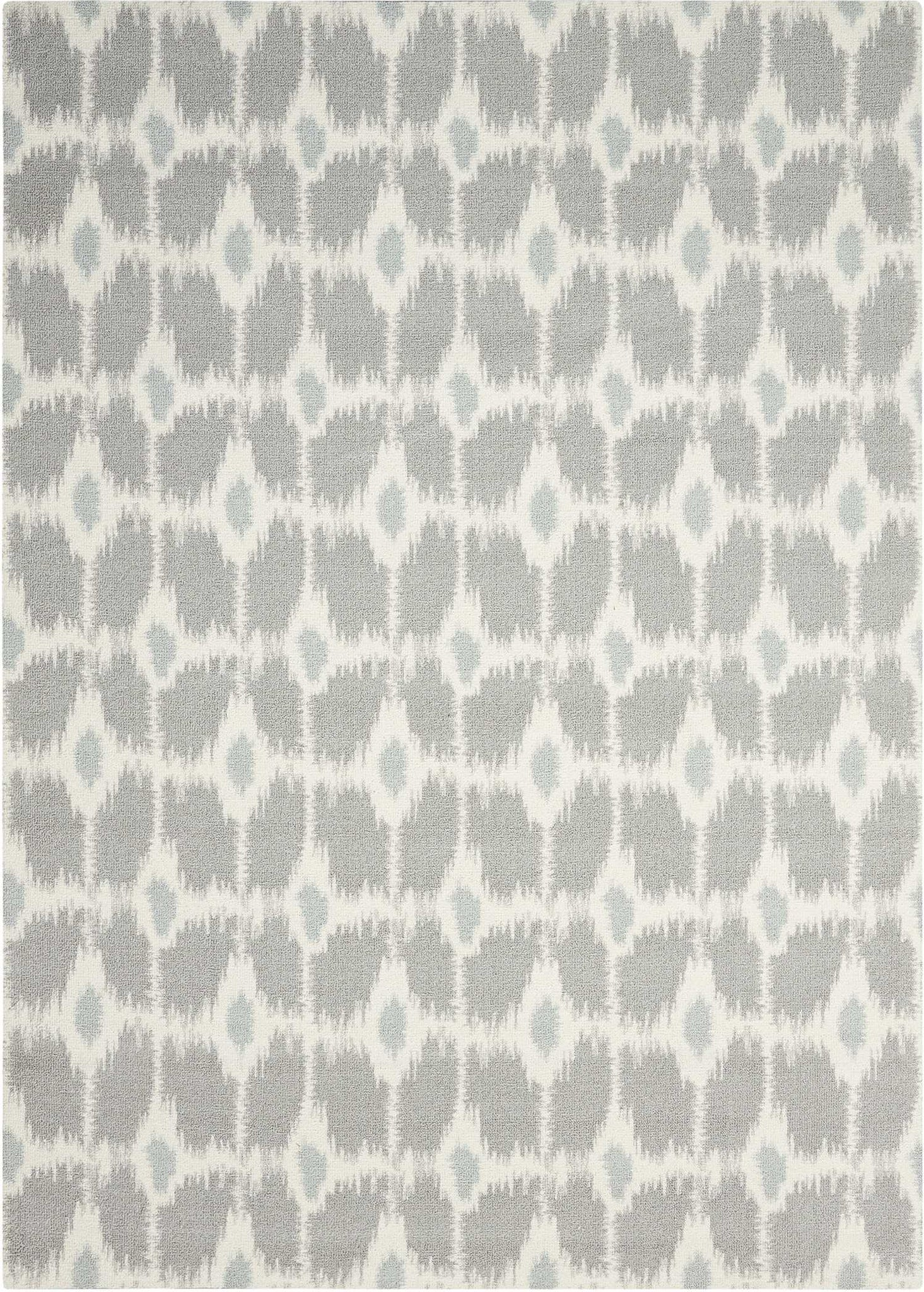 Nourison Enhance EN199 Grey Area Rug main image