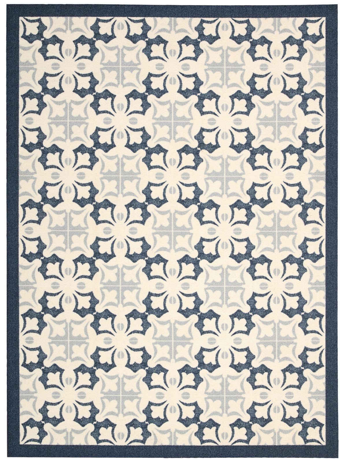 Nourison Enhance EN200 Blue Area Rug main image
