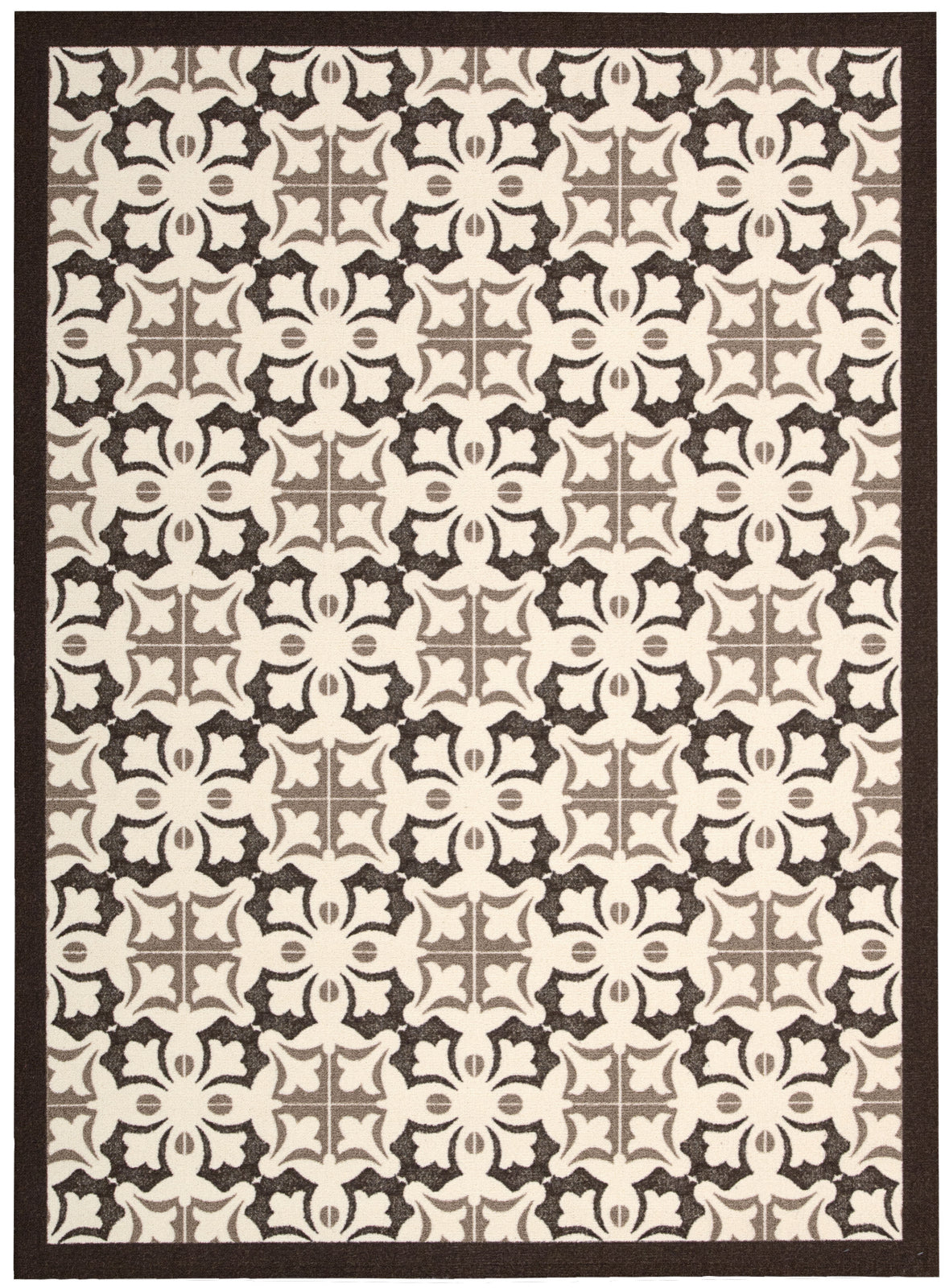 Nourison Enhance EN200 Brown Area Rug main image