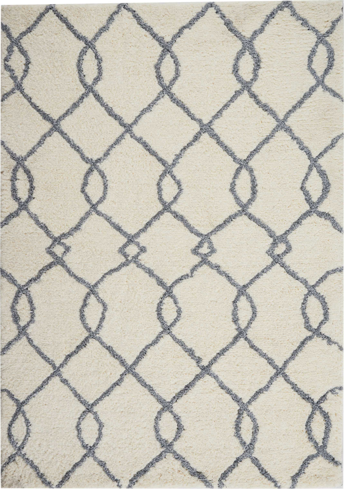 Nourison Galway GLW02 Ivory Blue Area Rug main image