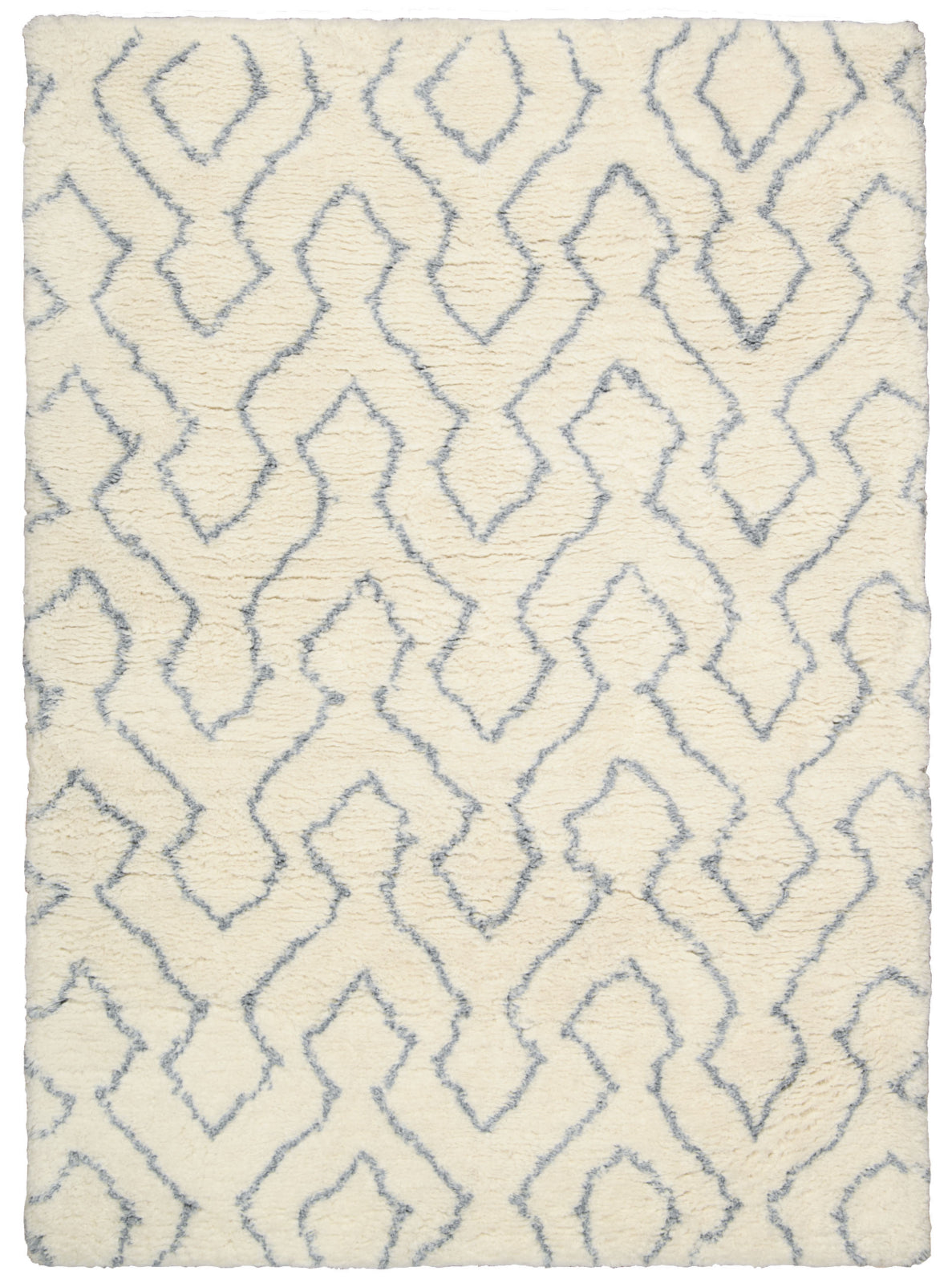Nourison Galway GLW03 Ivory Blue Area Rug main image