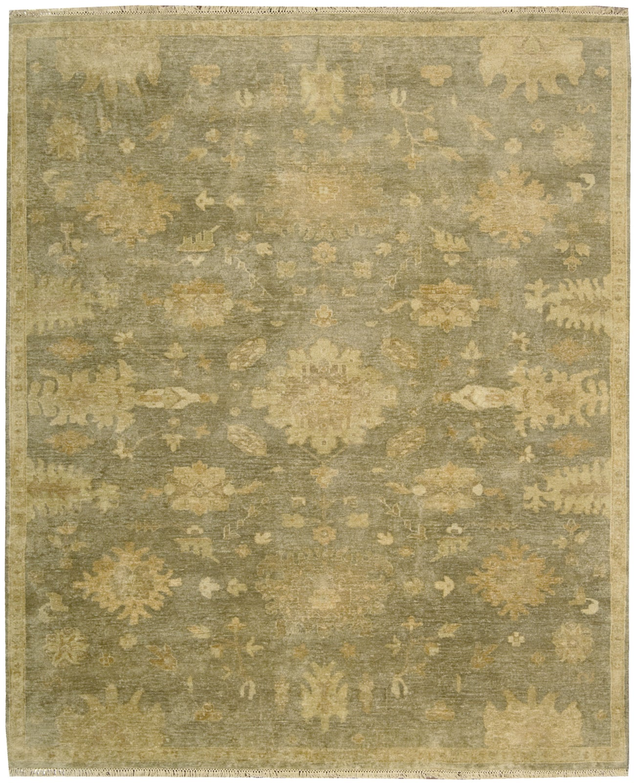 Nourison Grand Estate GRA03 Sage Area Rug main image