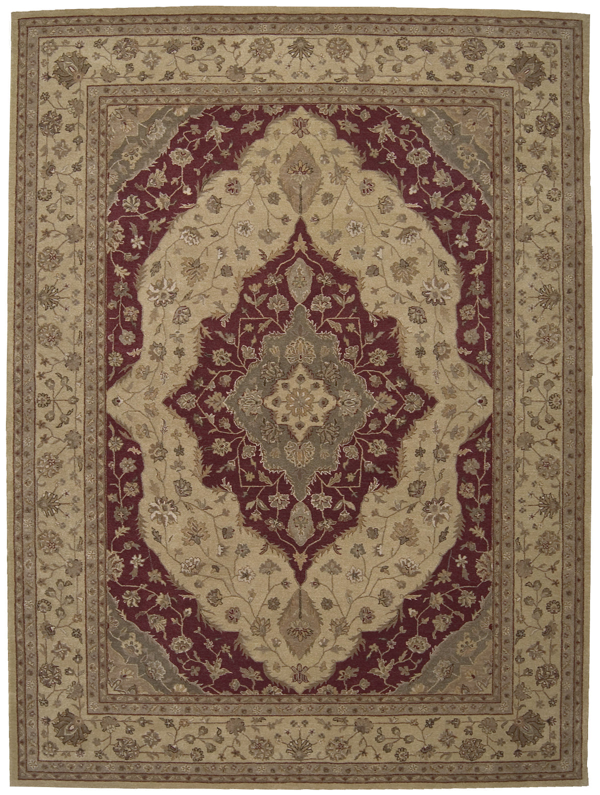 Nourison Heritage Hall HE03 Lacquer Area Rug main image