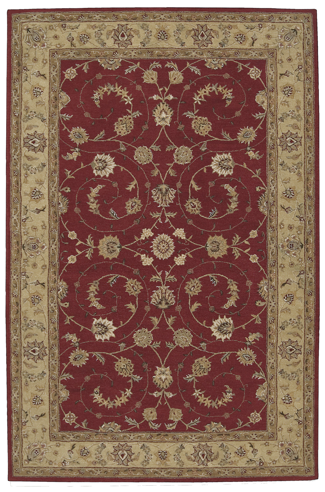 Nourison Heritage Hall HE04 Lacquer Area Rug main image