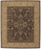 Nourison Heritage Hall HE05 Brown Hand Tufted Area Rug