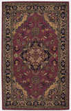 Nourison India House IH02 Rust Hand Tufted Area Rug