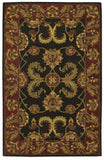 Nourison India House IH04 Black Hand Tufted Area Rug