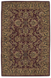 Nourison India House IH17 Burgundy Hand Tufted Area Rug
