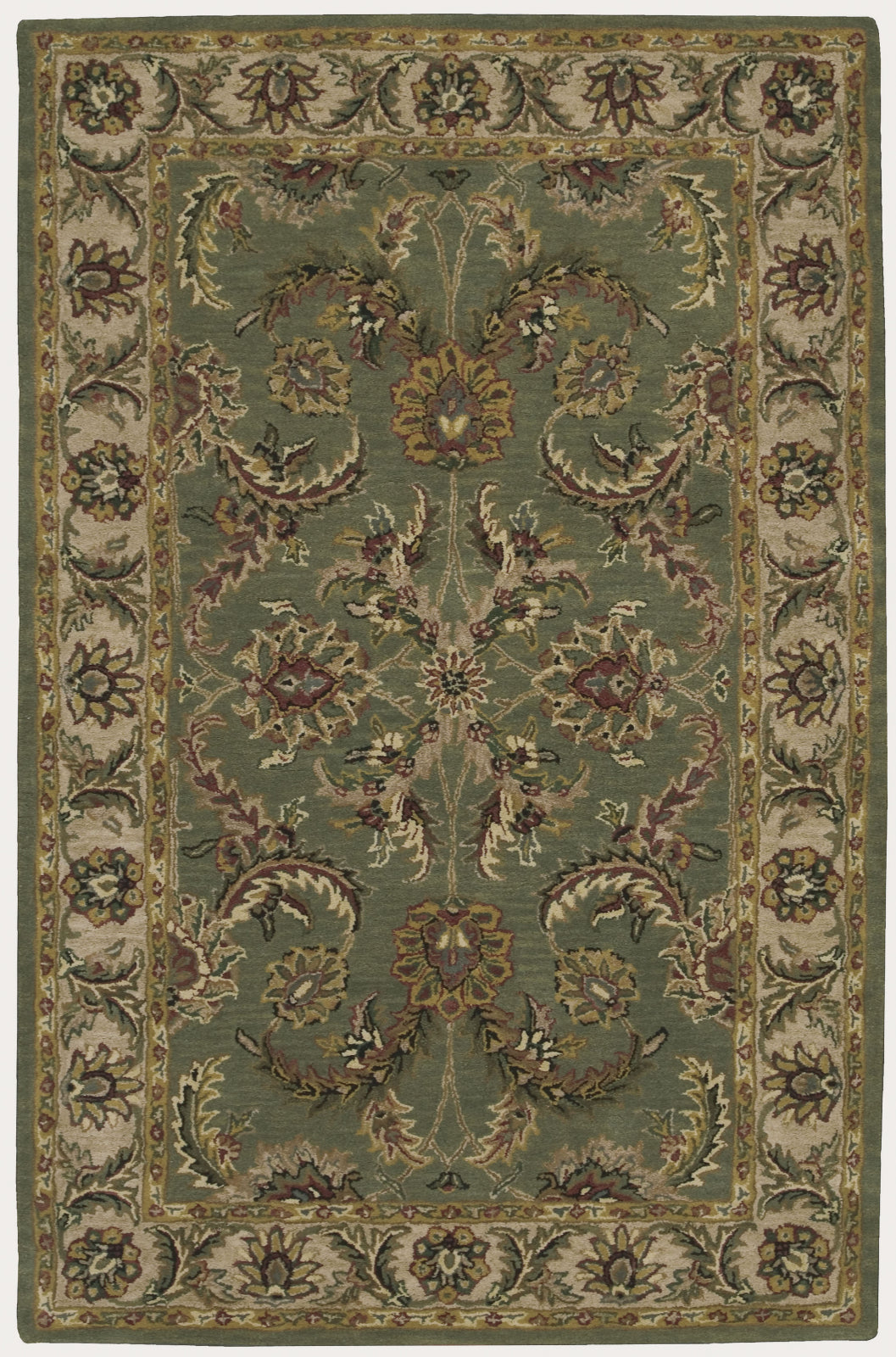 Nourison India House IH18 Green Area Rug main image
