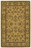 Nourison India House IH19 Gold Hand Tufted Area Rug