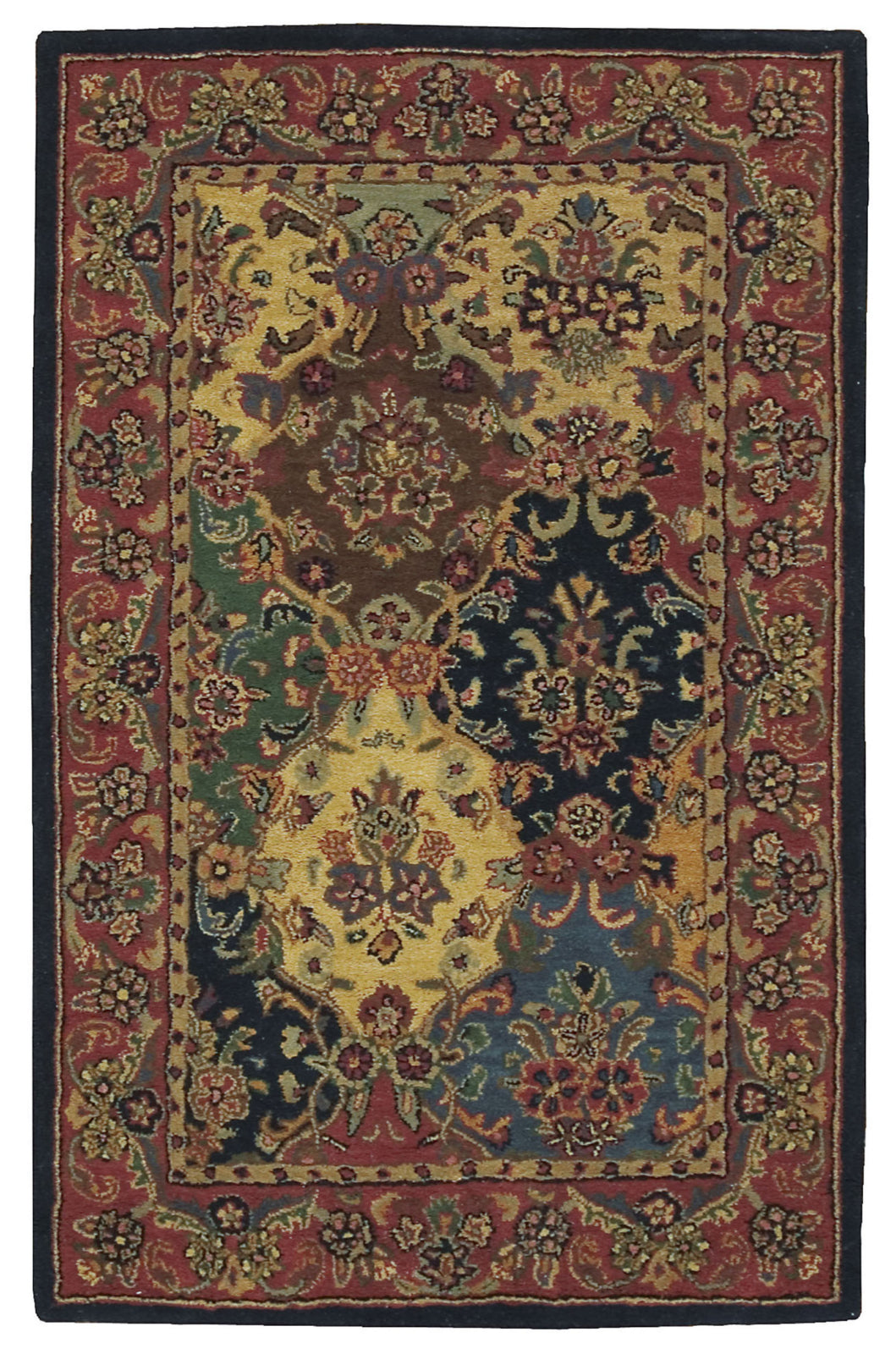 Nourison India House IH23 Multicolor Area Rug main image