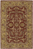 Nourison India House IH58 Rust Hand Tufted Area Rug