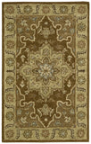 Nourison India House IH66 Chocolate Hand Tufted Area Rug
