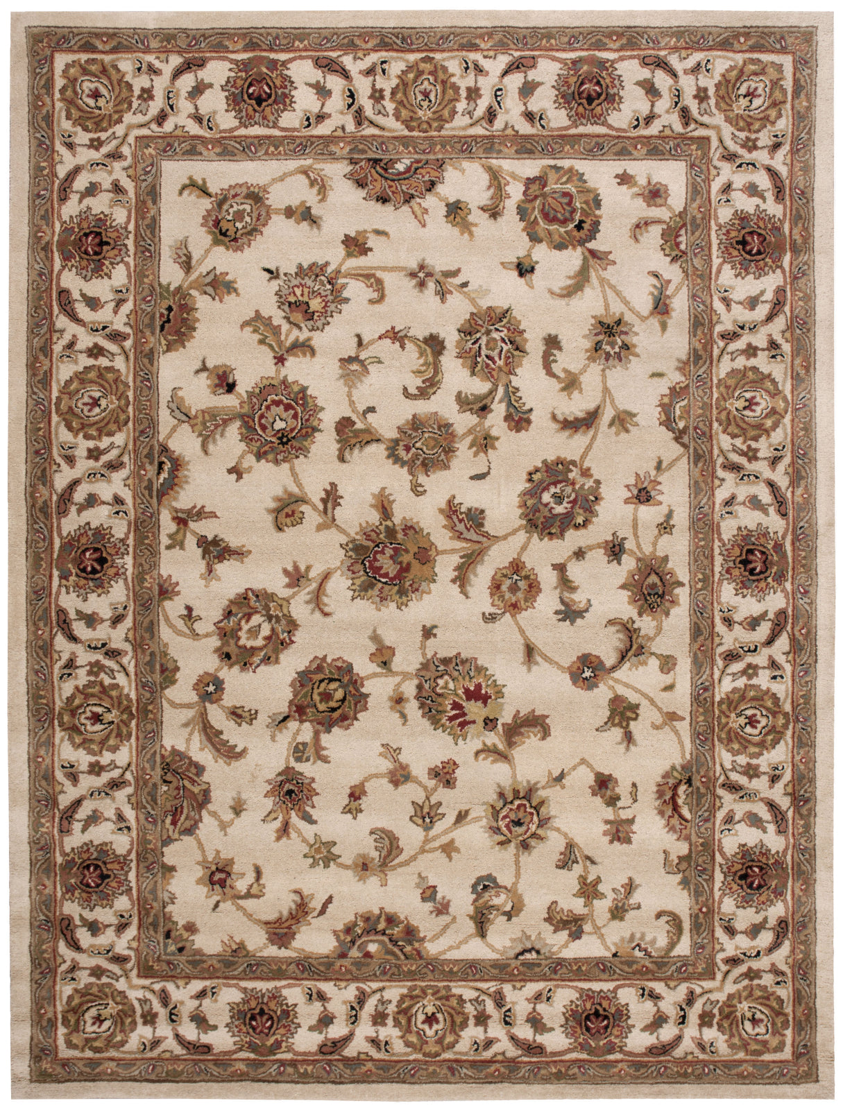 Nourison India House IH73 Ivory Area Rug main image